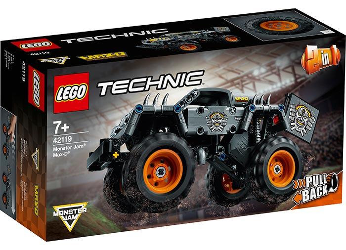 LEGO Technic - Monster Jam Max-D (42119) | LEGO