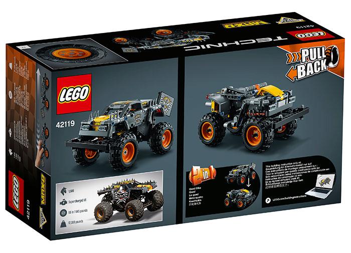 LEGO Technic - Monster Jam Max-D (42119)   LEGO - 7