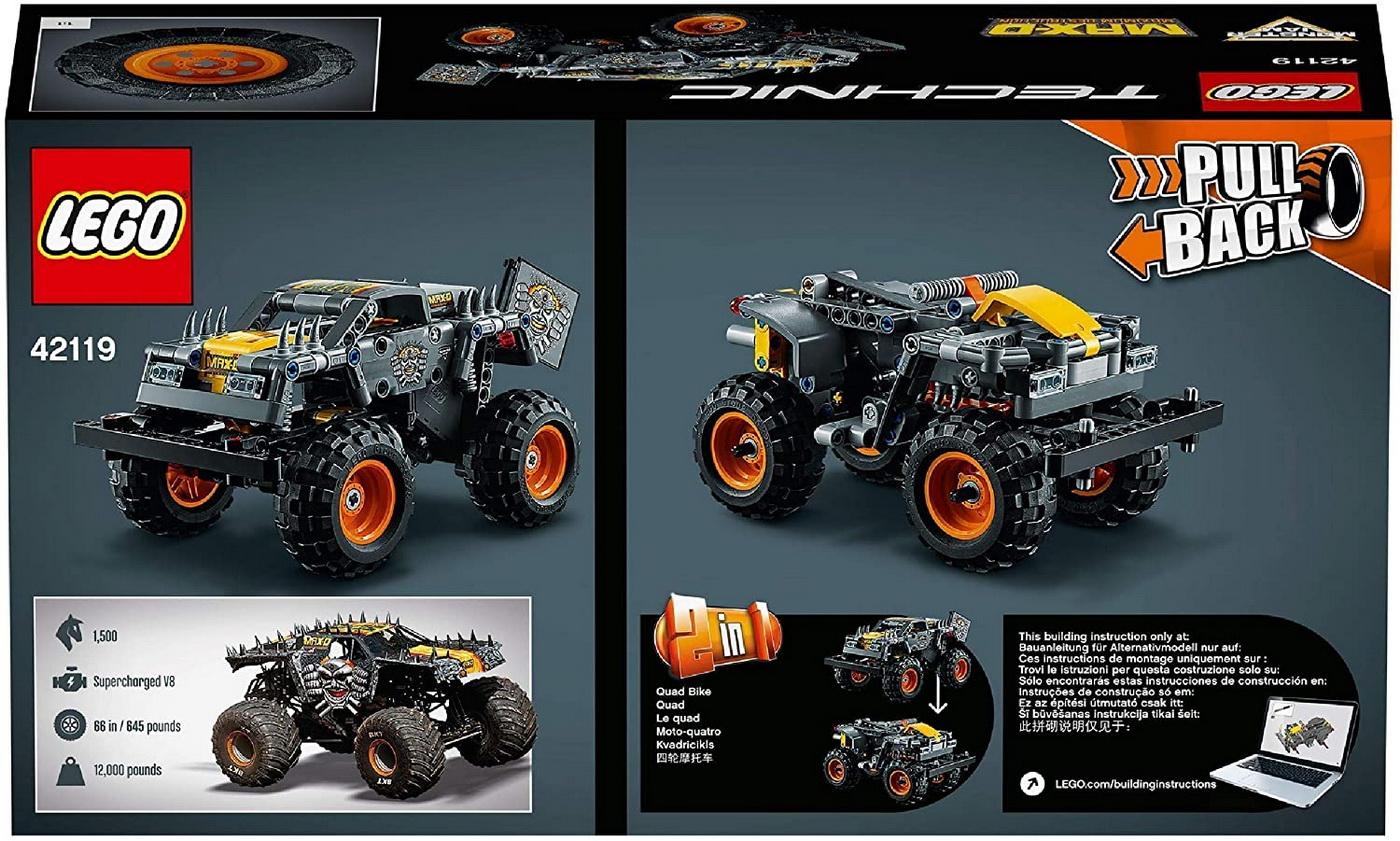 LEGO Technic - Monster Jam Max-D (42119)   LEGO - 11