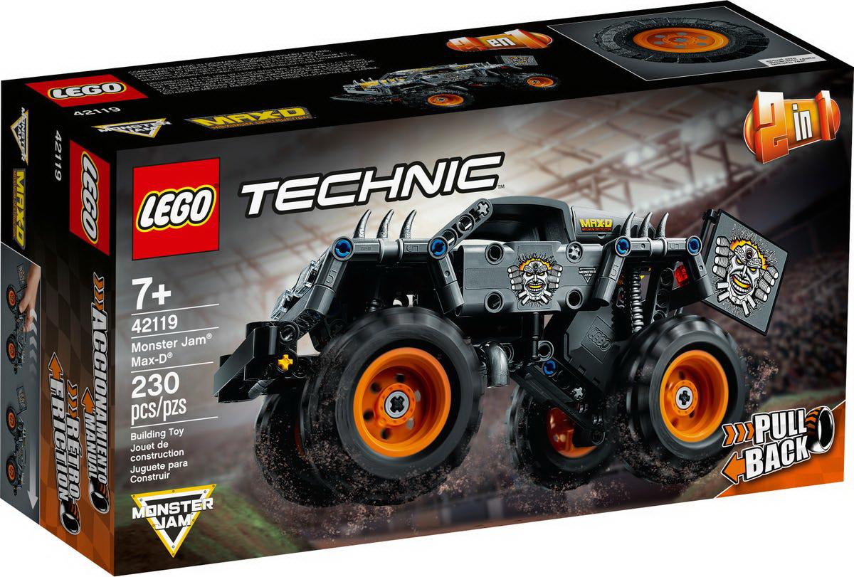 LEGO Technic - Monster Jam Max-D (42119)   LEGO - 2
